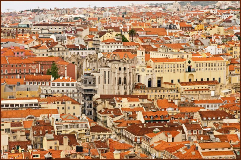 Roof Tops of Lisbon