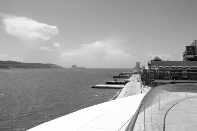 Tejo from MAAT roof top